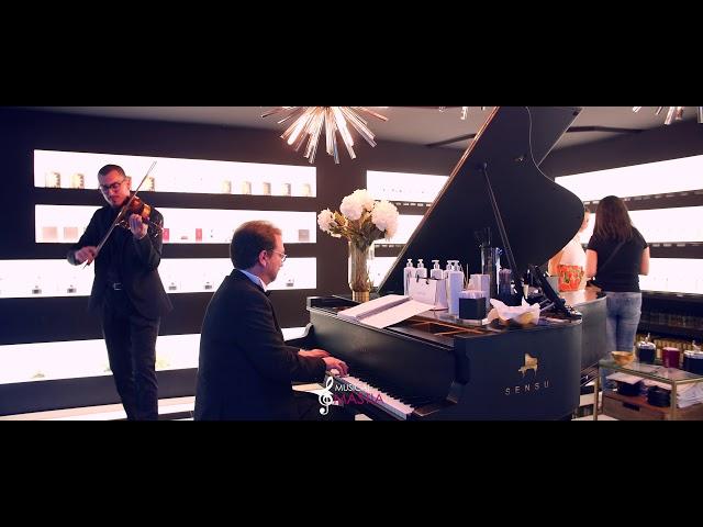 Tertia Sensu | Violin y Piano de Cola | Violinista para Eventos | Musical Mastia