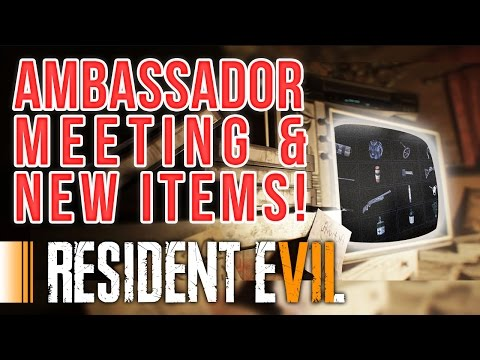 RESIDENT EVIL 7 - UNSEEN ITEMS & NEW LEAKED PICTURES