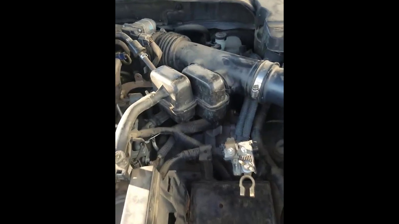 how to find the starter solenoid nissan maxima 2008 [ 1280 x 720 Pixel ]