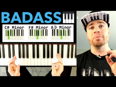 BADASS Dark Piano Chord Progression You Can Use Today