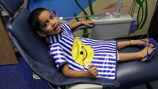 Child's First Trip to the Dentist Visit Children Pediatric Dentistry Check up Cleaning Kids Video(Subscribe http://www.youtube.com/user/HonorKidsChannel?sub_confirmation=1. Child's First Trip to the Dentist Visit Children Pediatric Dentistry Check up ..., 2015-07-19T04:38:17.000Z)