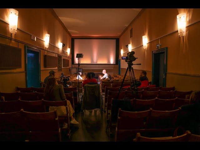 Rudi Gottsberger - Sounddesigner & Medienschaffender - beim 3. Kinogespräch