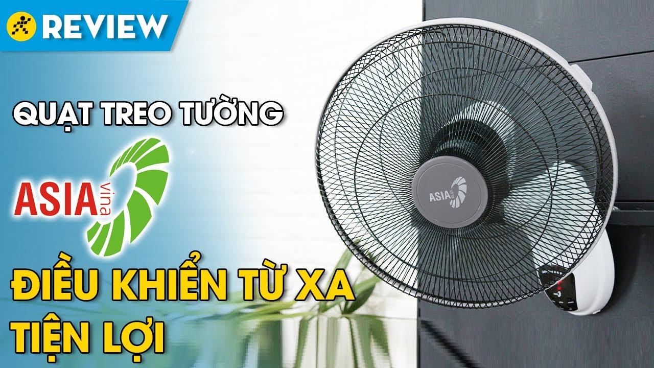 Quạt treo Asia: kiểu dáng đẹp, làm mát rộng, có remote tiện lợi (L16006-XV0) • Điện máy XANH