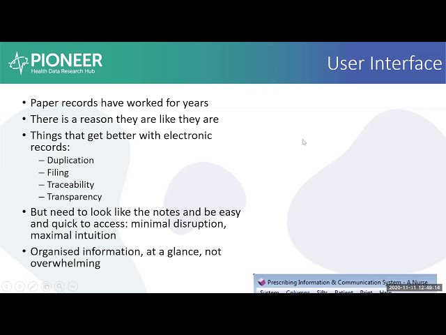 Transforming care by building electronic health records