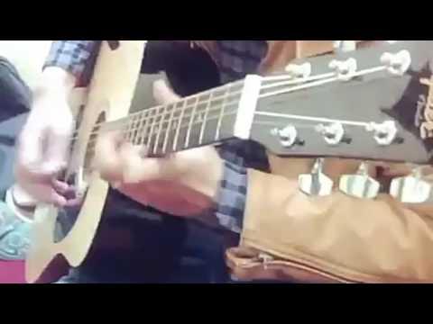 Har karam apna Movie (karma) Guitar instrumental by mr. Praveen guleria