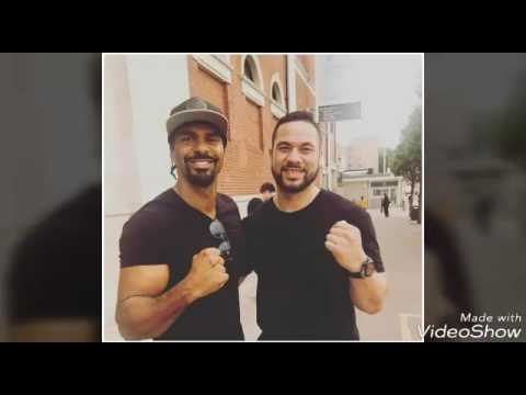 Joseph Parker training with David Haye! FOR HUGIE FURY