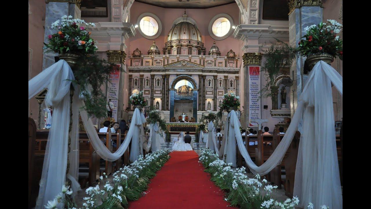 Philippine beach wedding @Dakak, Dapitan - YouTube