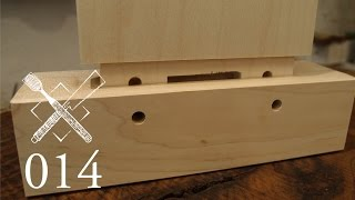 Joint Venture Ep. 14: Dadoed and draw bored double tenon (Western Joinery)
