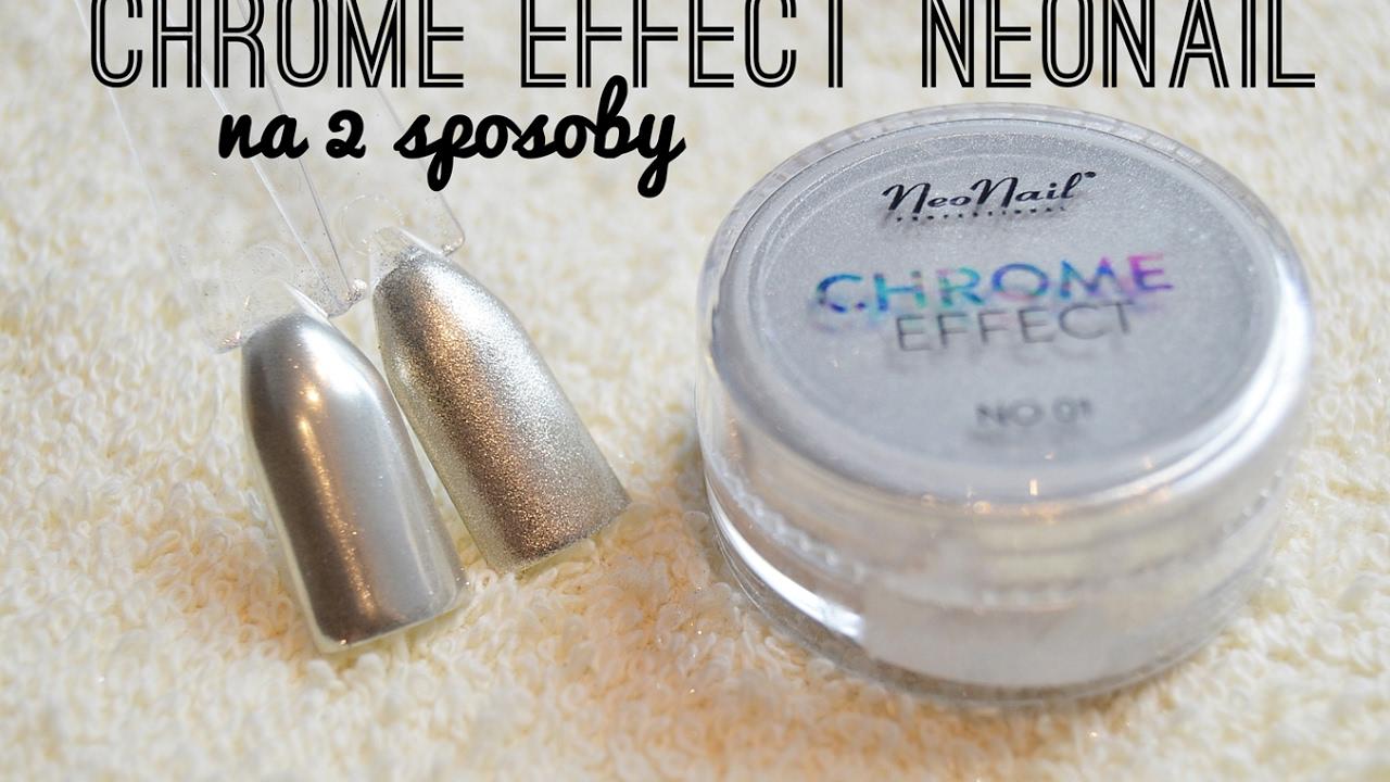 Chrome Effect Neonail Na Dwa Sposoby Efekt Lustra Chromu