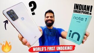Micromax IN Note 1 Unboxing & First Look - The Indian Performer!!! *World Exclusive*🔥🔥🔥