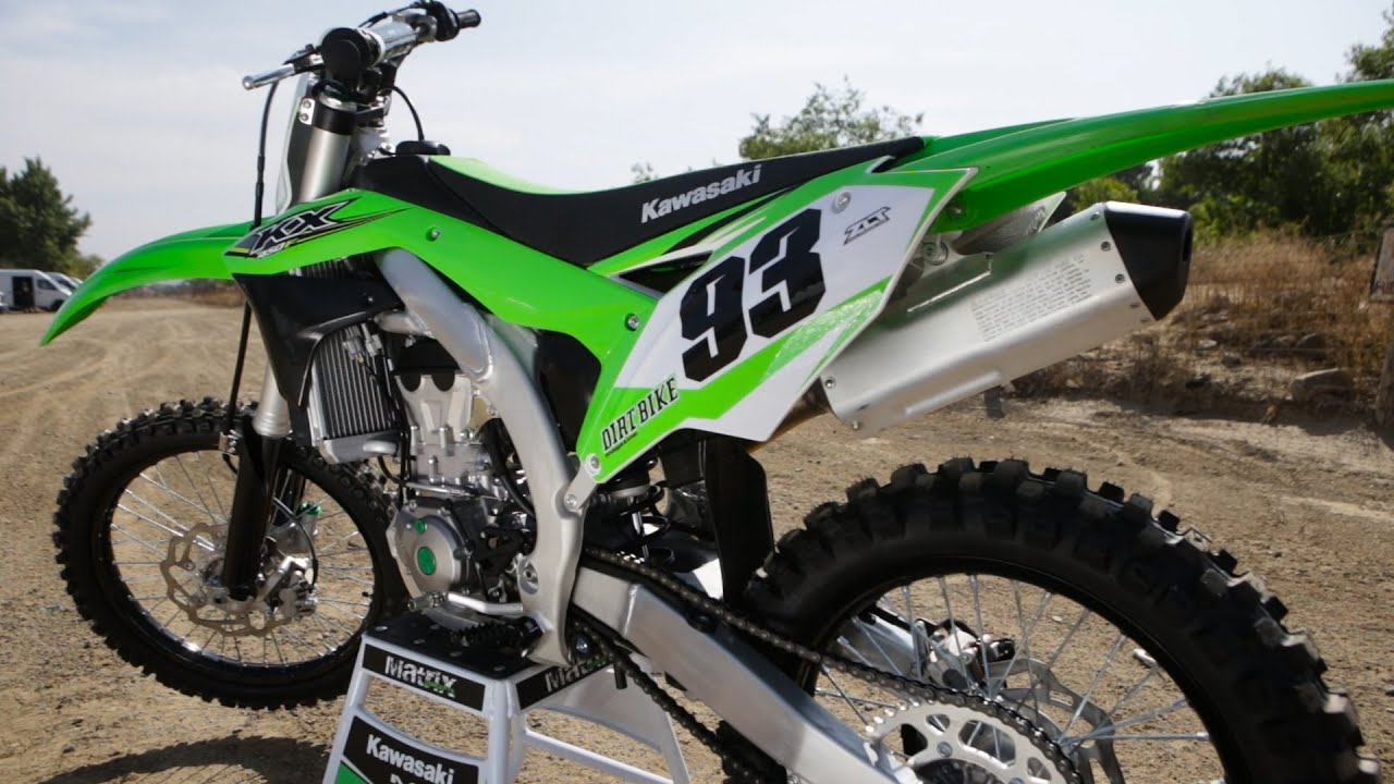 Kawasaki Dirt Bike Videos