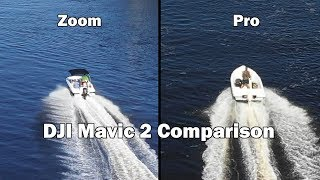 Pro vs Zoom Comparison with Audio Commentary - DJI kotači Mavic 2 in 4k