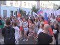 В Самаре прошёл грандиозный танцевальный флешмоб в поддержку сборной России по футболу