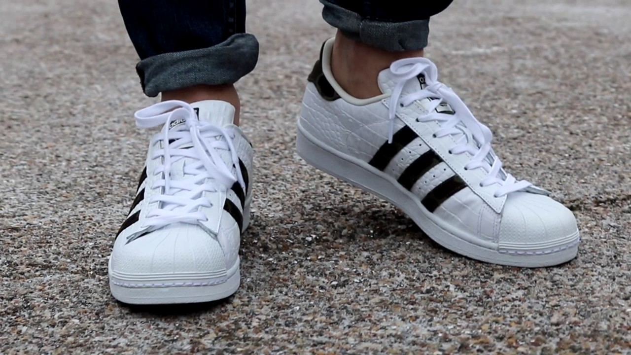 Adidas Originals Superstar Foundation Kids White/black/whi Culture