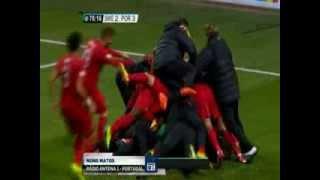 Redação AM: Nuno Matos enlouquece com os gols de Cristiano Ronaldo ( Suécia 2 x 3 Portugal )