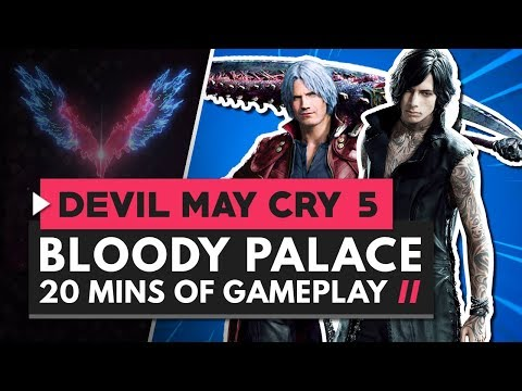 20 Minutes of New Bloody Palace Gameplay | Devil May Cry 5 thumbnail