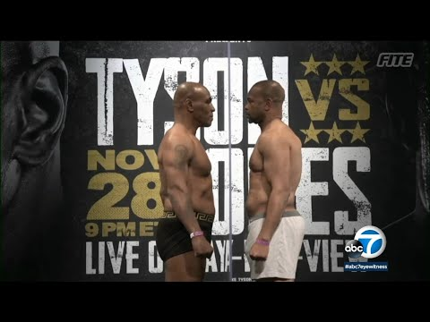 54-year-old Mike Tyson, Roy Jones Jr. hungry to fight again I ABC7
