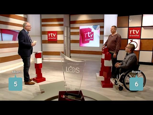 De finale van de streektaolquiz LOOS met Roelof Keen.