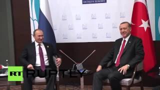 Turkey: Putin meets with Erdogan on sidelines of G20 Summit