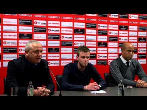 Persconferentie Almere City FC - Jong PSV