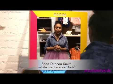 Eden Duncan Smith  RUUM KIDS  NYC Event