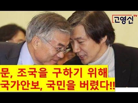 [고영신TV] 지소미아 파기, 제발등 찍는 자해행위 안보도박!!(출연: 이진곤 전국민일보주필)