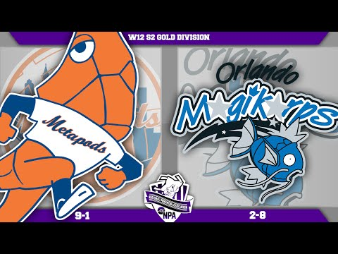"New York Metapods vs Orlando Magikarp! NPA W12! ""Sunny Day"" - Pokemon LIVE WIFI Battle"