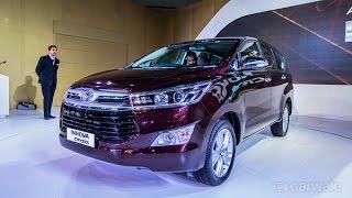 New Toyota Innova Crysta : First Impression : PowerDrift