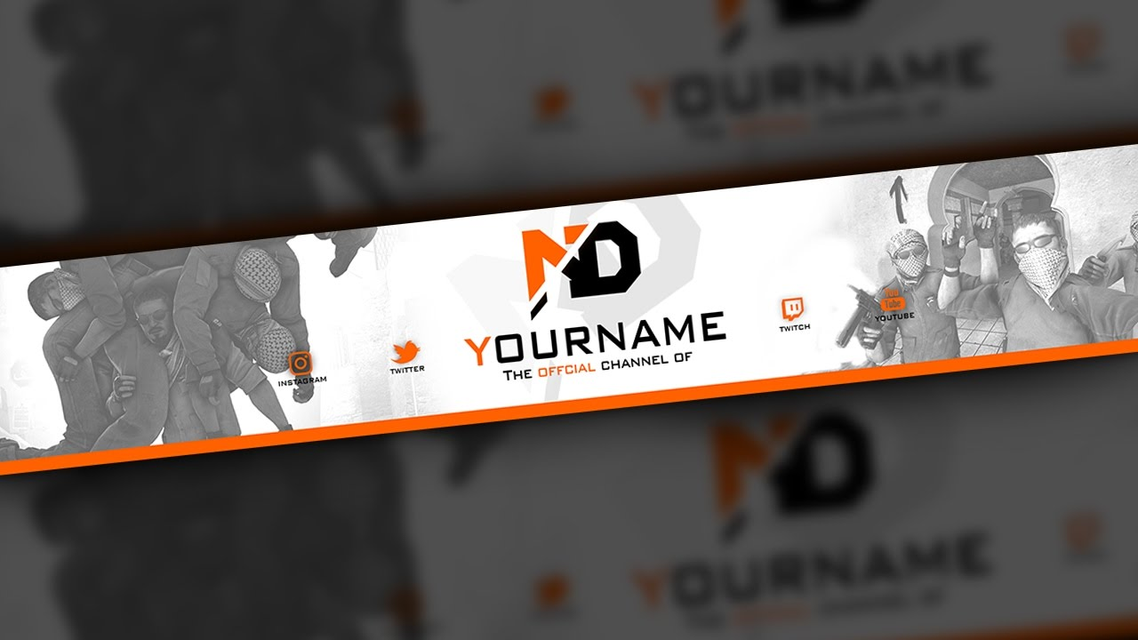 csgo youtube banner template - asiimov