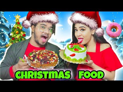 Testing Out & Eating *VIRAL* CHRISTMAS Food Hacks For 24 Hours   Gone YUMMY   Nilanjana Dhar  Situ