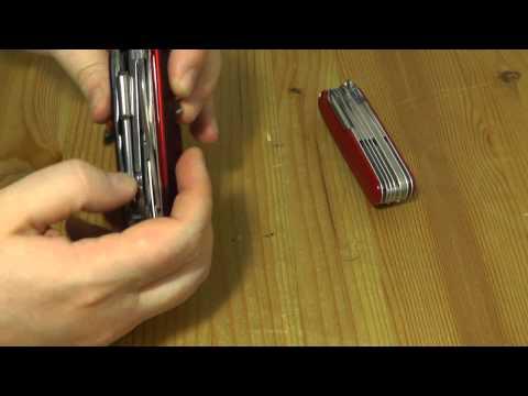 Victorinox CyberTool 34 & Craftsman | EDC Gear Werkzeug Multitool