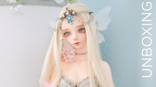 BJD Fairyland Feeple60 Carol [Butterfly Fairy] Unboxing / Box Opening