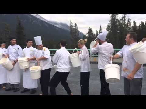 Banff Springs Hotel Culinary Team ALS Ice Bucket Challenge