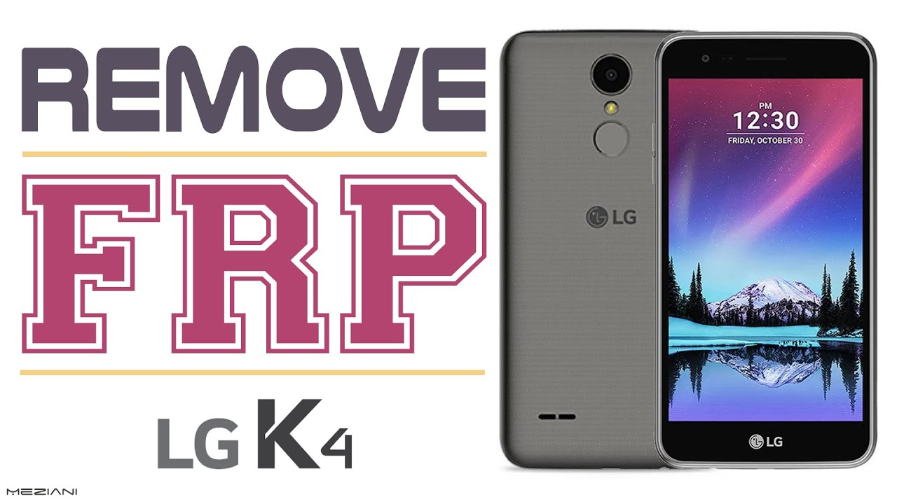 Bypass Google Account LG K4 2017 M160 Remove FRP