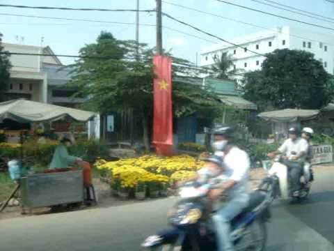 On the road from Ca Mau to Saigon