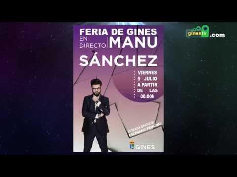 Manu Sánchez pondrá su particular toque de humor a la Feria de Gines