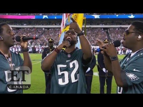 ff885080 Boyz II Men Sing U.S. National Anthem - YouTube