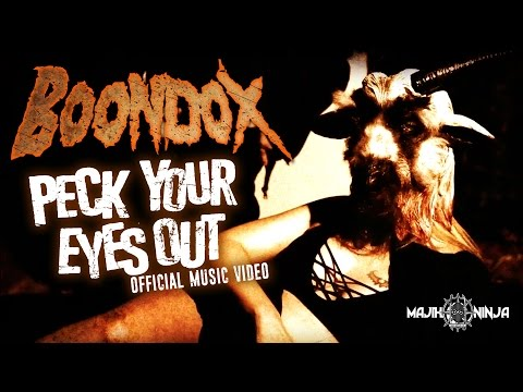 Boondox - PYEO (Peck Your Eyes Out) Official Music Video - Majik Ninja Entertainment