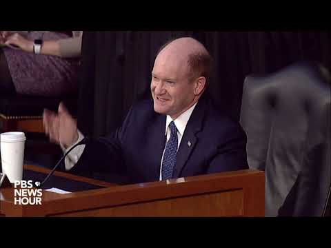 Sen. Chris Coons questions witnesses in Amy Coney Barrett Supreme Court confirmation hearing