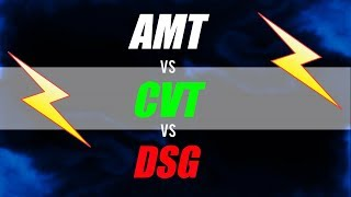 AMT vs CVT vs DSG Which is Better Pros and Cons Explained #Dinopedia