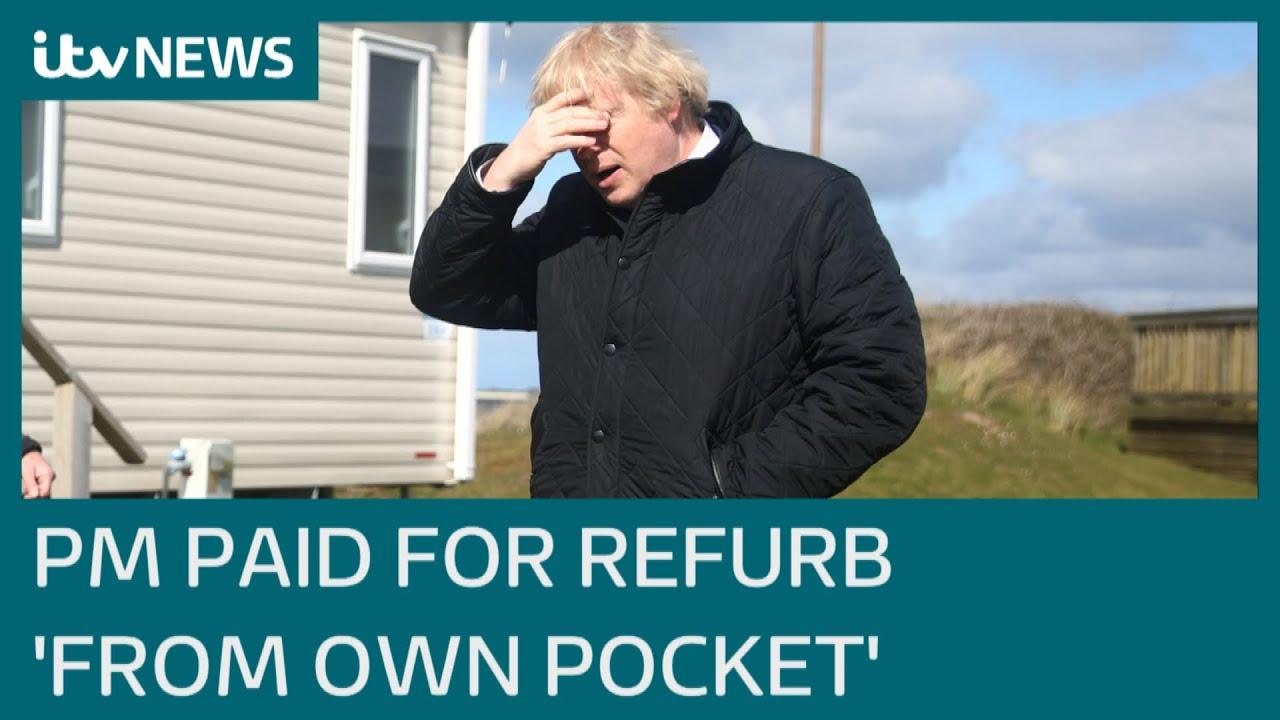 Download Boris Johnson paid for Downing Street flat refurbishment himself, top minister insists | ITV News