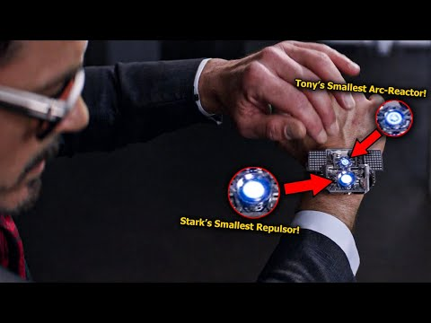 I Just Found Tony Stark's Smallest Arc-Reactor in Captain America: Civil War