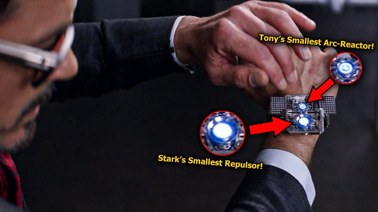 I Just Found Tony Stark's Smallest Arc-Reactor in Captain America: Civil War