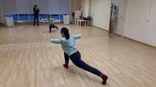 Контемпорари танец. Урок онлайн. Инна Бавина. Школа танцев