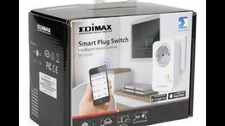 فتح جهاز ايديماكس للتحكم في كهرباء المنزل عن طريق التليفون الذكي unboxing edimax sp-110w