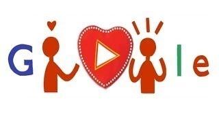 Valentine's Day   Google Doodle 2014