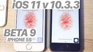iOS 11 BETA 9 vs. iOS 10.3.3 - SPEED TEST + Benchmark! (iPHONE 5S) #iOS11 #IPHONE5S #NEW #TECH