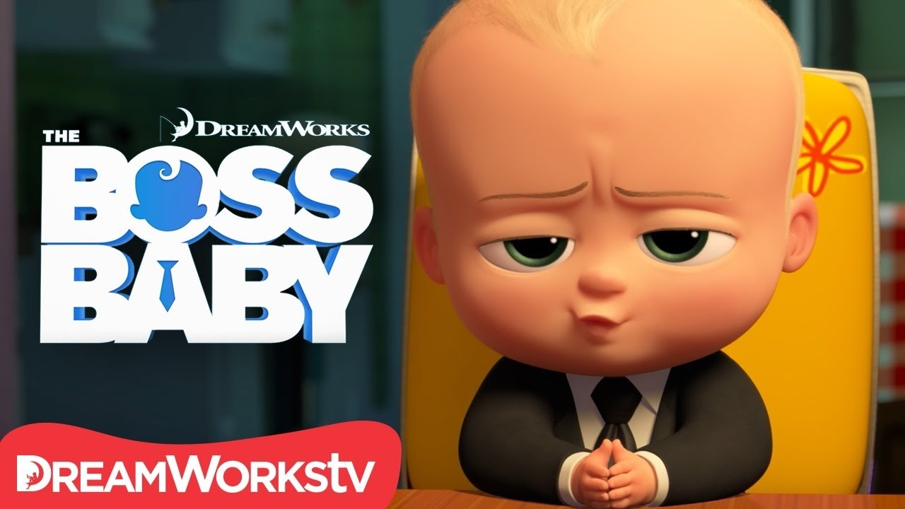 The Boss Baby Funny Scenes 2017