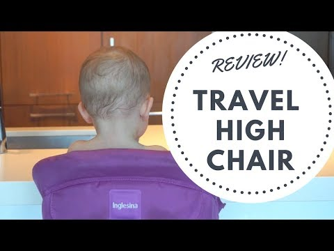 Inglesina Fast Table Chair || REVIEW ||
