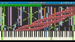 Repeat youtube video Synthesia Shanghai teahouse 3.1 million notes